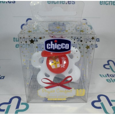 CHUPETE SILICONA CHICCO MY LITTLE STAR 6+16M