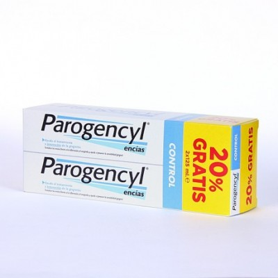 PAROGENCYL CONTROL PASTA DENTAL PACK 2 X 125 ML