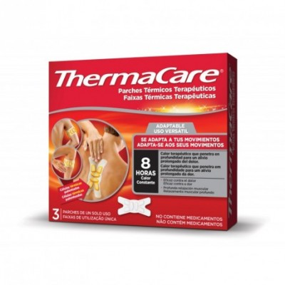 THERMACARE ADAPTABLE 3 PARCHES TERMICOS