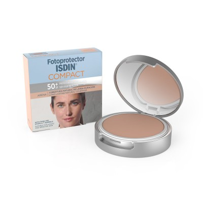 FOTOPROTECTOR ISDIN COMPACT ARENA SPF50+ 10GR