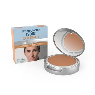 FOTOPROTECTOR ISDIN COMPACT BRONCE SPF50+ 10GR