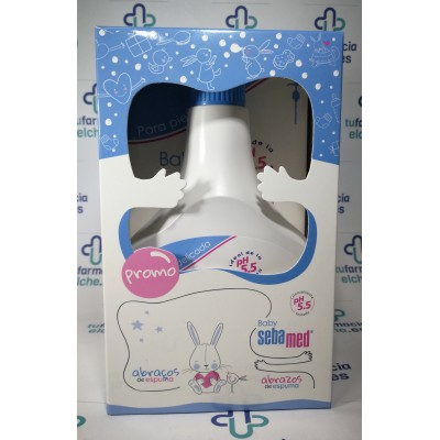 SEBAMED BABY PACK BAÑO 500ML + CHAMPU 500 ML