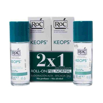 DESODORANTE KEOPS ROLL- ON PACK 2 X 30ML