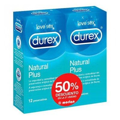 PACK DUREX NATURAL PLUS