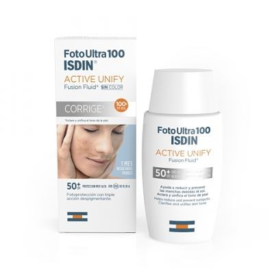 FOTOULTRA 100 ISDIN ACTIVE UNIFY FUSION FLUID 50ML