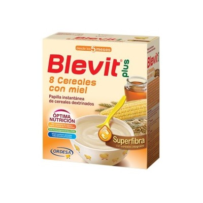 BLEVIT PLUS SUPERFIBRA 8 CEREALES Y MIEL 600 GR